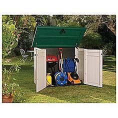 35 best outdoor garden storage images on pinterest. Black Bedroom Furniture Sets. Home Design Ideas