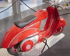 """Vespa 98cc type """"Corsa Circuito"""" - 1947 by vespa_obsession, via Flickr"""