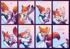 #WildeHopps Kiss Meme by TheWinterBunny