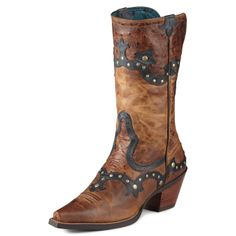 Cowboy boot obsessed right now Ariat Women's Rogue Boot - Skippy Brown/Butternut Cowboy Boots Women, Cowgirl Boots, Cowboy Hats, Western Wear, Western Boots, Horse Riding Boots, Boot Scootin Boogie, Cute Boots, Brown Boots
