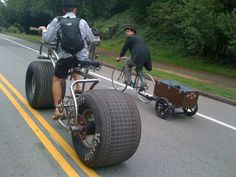 Bigass tires!