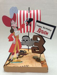 Jake and the Neverland Pirates Birthday Party by DivaDecorations, $19.50