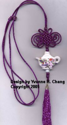Chinese ornamental knot jewelry