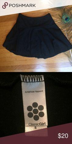 American Apparel Skater Skirt Small Fun American Apparel Skirt! Size small. Worn a few times though in good condition. American Apparel Skirts Mini