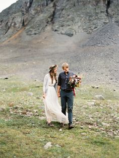 Rugged Mountain Shoot from Brumley and Wells  Read more - http://www.stylemepretty.com/2013/10/11/rugged-mountain-shoot-from-brumley-and-wells/
