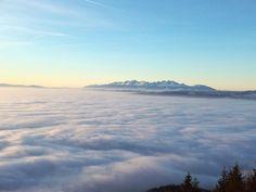 Slovakia, Sľubica, High Tatras, Fog