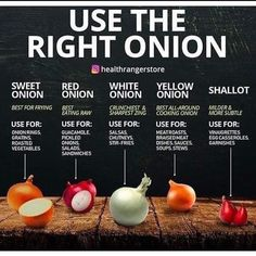 lowcarb_kayla Just for the record, I don't think there's ever really a WRONG time to use any onion (except maybe using shallots for onion… Cooking Onions, Cooking 101, Cooking Recipes, Healthy Recipes, Eat Healthy, Cooking Hacks, Dinner Healthy, Healthy Weight, Easy Recipes