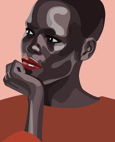 Black Girl Art, Black Art, Portraits Pop Art, L'art Du Portrait, Plakat Design, Small Canvas Art, Ap Art, Art Portfolio, Art Sketchbook