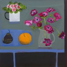 """Winter Table"" by Emma Dunbar, acrylic, 46 x 46cm, £1100."