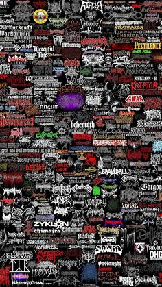 HD wallpaper: metal slayer behemoth rock music guns n roses judas priest band dragonforce halford w Entertainment Music HD Art Heavy Metal Bands, Heavy Metal Music, Rock Poster, Rock Band Posters, Death Metal, Rockband Logos, Pagan Metal, Rock And Roll, Metal Band Logos