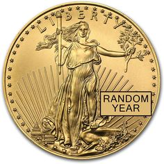 1986 - Present 1/2 oz Gold American Eagle BU (Random Year) 1/2 OZ Brilliant Uncirculated         *** You can find more details by visiting the image link. (This is an affiliate link) #CollectibleCoins
