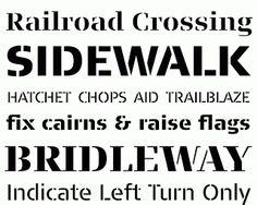 Typonine Stencil vs. normal stencil fonts | Blog Sans