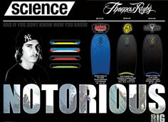 Science Bodyboards Tom Rigby Smalls V Flex Contour PE Core - 2012/13 Model Bodyboard King Worldwide Online Store