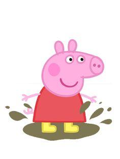 Passatempo da Ana: Imagens - Personagens Peppa Pig Peppa Pig is a British preschool cartoon Peppa Pig Cartoon, Molde Peppa Pig, Bolo Da Peppa Pig, Peppa Pig Imagenes, Peppa Pig Teddy, Cumple Peppa Pig, George Pig, Peppa Pig Y George, Easy Drawing Tutorial