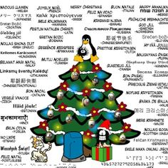 this article lists how merry christmas in said in different languages - Merry Christmas In Different Languages List