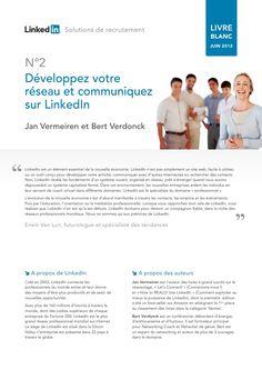 Livre blanc LinkedIn (juin 2012)  Développez votre réseau et communiquez sur LinkedIn #RH20