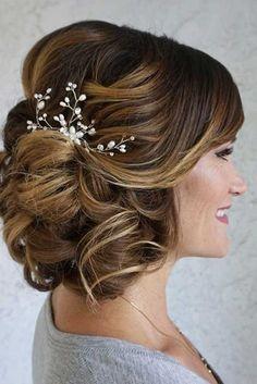 27 elegante schauende Mutter der Braut Frisuren