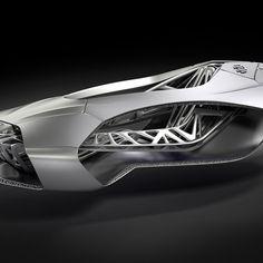 ➰3D. (I) 3D printed car inspired by turtle skeleton. #3d #printing