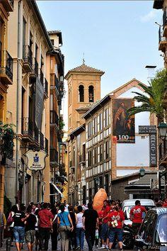 Calle Elvira, Granada, Spain
