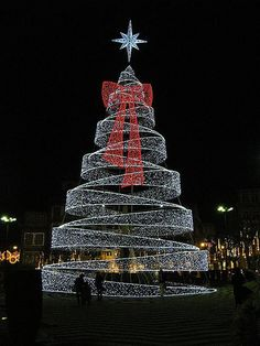Guimarães, Portugal Christmas Tree