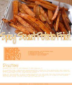 Sweet Potato Fries YUM!