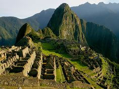 Machu Picchu a must see if you go to Peru, one of the seven wonders...will take your breath away.