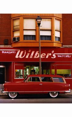 Wilber's Diamonds & Watches A Nash Rambler station wagon © William Eggleston William Eggleston, Us Cars, Sport Cars, Sport Sport, Vintage Cars, Antique Cars, Vintage Sport, Vintage Photos, Automobile