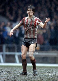 English Football League Division One - Swansea City v Stoke City, A muddy Paul Bracewell of Stoke.