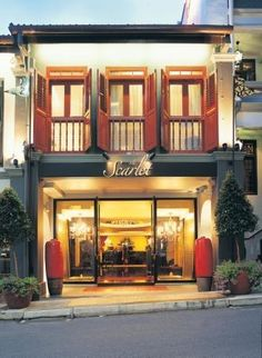 Scarlet Hotel in Singapore. Small hotel with great taste. Occupying chinese townhouse, this hotel blends the charm of early 20 century hotel and the exotic oriental bliss. Not cheap but worth to stay.