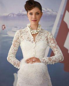Wedding Dress Inspired by Zurich, Switzerland | Martha Stewart Weddings
