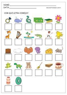 Alfabetização Amanda e Lucas Tracing Worksheets, Preschool Worksheets, Preschool Learning, Classroom Activities, Teaching Kids, Activities For Kids, Drawing Lessons For Kids, Hebrew School, Toddler Books