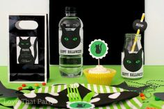 halloween parties don't have to be scary... Our black cat party is cute as can be. www.lovethatparty.com.au