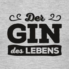Der Gin des Lebens – das T-Shirt für alle Holunder-Liebhaber