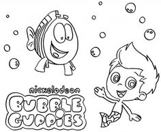 Bubble Guppies Nickelodeon Coloring Page : Coloring Sun Coloring Sheets, Coloring Pages For Kids, Bubble Guppies Coloring Pages, Guppy, Online Coloring, Bubbles, Sun, Colouring Sheets, Coloring Pages For Boys
