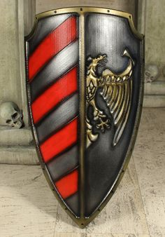 Shield Major in red from Imperial 2nd Edition designed by Forgotten Dreams Design