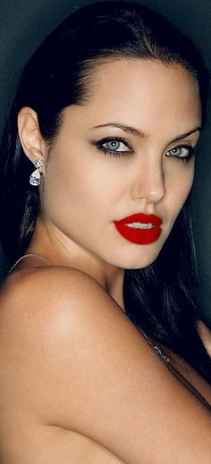 Angelina Jolie ~ Perfect Red Lips