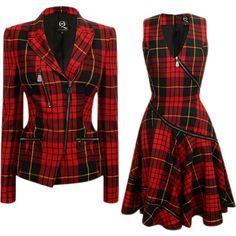 @geralkeys Alexander McQueen, Cuadros escoceses, otoño 2013 https://www.facebook.com/Geraldinekeeyss-840801652636770/?fref=nfc #fashion