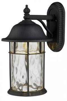 "Lapuente 1-Light 17""H Outdoor Wall Mount - Outdoor Lighting - Lighting - Home Decor | HomeDecorators.com"