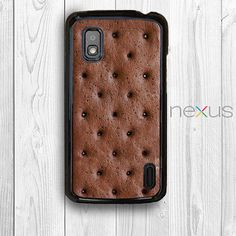 Ice Cream Sandwich Nexus 4 Case, Creative Food Nexus 4 Rubber Case Nexus 4 Back Cover --000010 on Etsy, $9.99