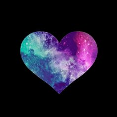 FOLLOW YOUR DREAMS♥ | We Heart It | heart, love, and galaxy