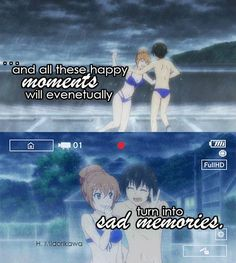 The Best 10 Anime Characters Sad Quotes, Love Quotes, Truth Quotes, Golden Time Anime, Manga Japan, Anime Qoutes, Special Quotes, Sad Anime, Happy Moments