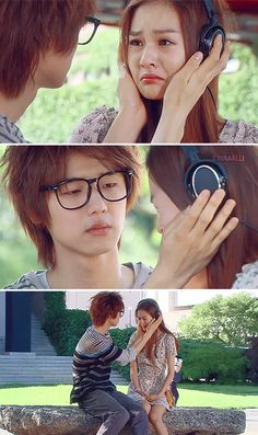 this scene ♥ // heartstrings // can I just take him home with me? such an adorable character :)