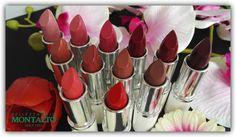 Montalto - Collezzione completa BaciamiBio Lipstick!