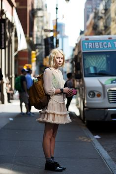 Stylish outfits from the Sartorialist