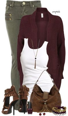 """Fringed"" by exxpress on Polyvore"