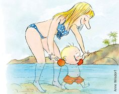 Comment aider bébé à ne pas avoir peur de l'eau…