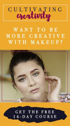 CULTIVATING CREATIVITY is a FREE makeup creativity e-course designed to push your limits with a 14-day series of challenges and lessons. Click here for more information. Makeup Tips For Oily Skin, Skin Tips, Skin Makeup, Dinner Makeup, Party Makeup, Natural Makeup Looks, Everyday Makeup, Free Makeup, Face Wash