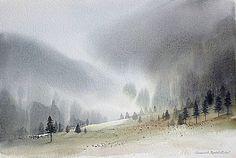omgmuscat: Landskapes by Branislav Marković Umbra - Everyday Watercolor