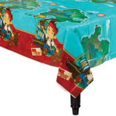Jake and the Never Land Pirates Table Cover - Party City