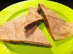What Vegan Kids Eat: Sweet Potato Black Bean Quesadillas